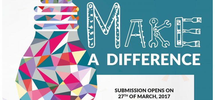 "Call for submissions! Ideenwettbewerb ""Make A Difference"""