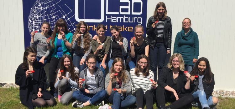 OpenLab Hamburg wird MINT-Ort im Programm mint:pink