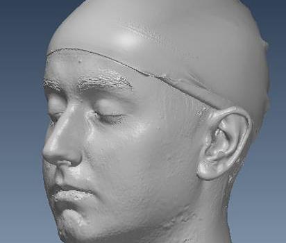 3D-Druck des Kopfes